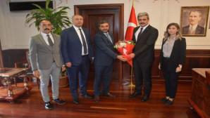Altın ve Akdaş'tan Başkan Köse'ye Ahilik Haftası ziyareti