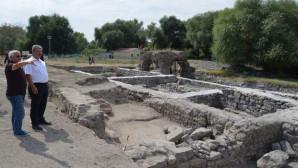 Keykubadiye Saray kazısında 5.yıl tamamlandı
