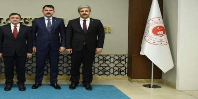 Yozgat'ın sorunlarına bakanlık desteği