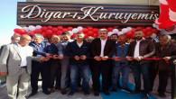"""Yozgat'ta kuruyemişin yeni adresi """"Diyar-ı kuruyemiş"""" açıldı"""