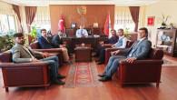Alperenlerden İl Emniyet Müdürü Esertürk'e hayırlı olsun ziyareti