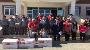 Türk Kızılay'ı Sorgun Şubesi minik öğrencilere sürpriz yaptı