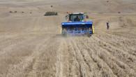 Yozgat'ta 5 bin dekar alanda toprak işlemsiz tarım ekimi yapılıyor