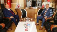 Hayırsever İşadamı Şahin'den Rektör Karadağ'a ziyaret