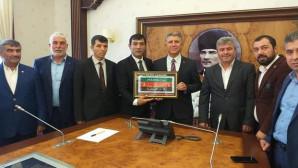 Başkan Kaya ve yönetiminden Vali Yardımcısı Dölek'e ziyaret