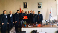 Çekerek ve Köyleri Platformundan Rektör Yardımcısı Kurtoğlu'na ziyaret