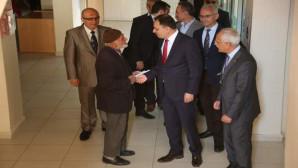 Vali Çakır, Tarım İl Müdürlüğü'nü ziyaret etti