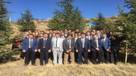 Fidan dikim kampanyasına bir destekte Yozgat Adliyesinden