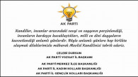 AK Parti Yozgat İl Teşkilatından Kandil mesajı