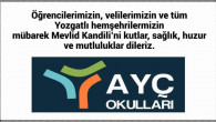 AYÇ Okulları Yozgat halkının Mevlid Kandilini kutladı