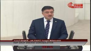 Milletvekili Başer, Yozgat halkının kandilini kutladı