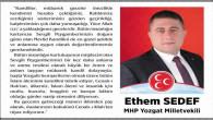 MHP Yozgat Milletvekili Sedef, Yozgat halkının Kandilini kutladı