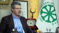 Başkan Akay: Varlık Fonu ile birlikte Kayseri Şeker'de yıpratılmak isteniyor
