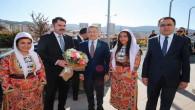 Cumhurbaşkanı Yardımcısı Oktay ve Bakan Kurum Yozgat'ta