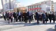 """AK Parti'den """"şiddete hayır"""" yürüyüşü"""