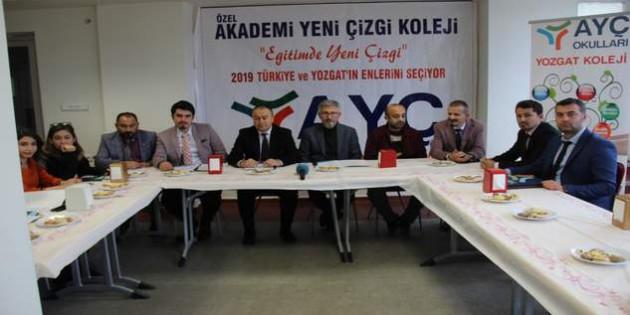 AYÇ Okulları Türkiye'nin ve Yozgat'ın enlerini seçecek