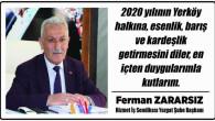 Hizmet İş Sendikası Başkanı Zararsız Yozgat halkının yeni yılını kutladı