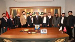 Vali Çakır'dan MÜSİAD'a ziyaret