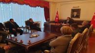 Milletvekili Sedef, Vali Çakır'ı makamında ziyaret etti
