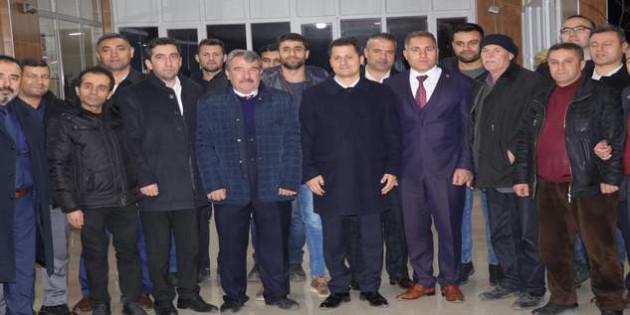 Ulaştırma Memur Sen'den Yerköy TCDD çalışanlarına ziyaret