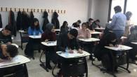 Akın Dil Merkezinde İngilizce deneme sınavı yapıldı