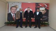 Ticaret Borsası Başkanı Erkekli'den İl Emniyet Müdürü Esertürk'e ziyaret