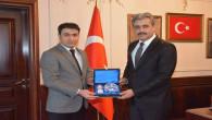 Başsavcı Uçak ve Yargı mensuplarından Başkan Köse'ye ziyaret