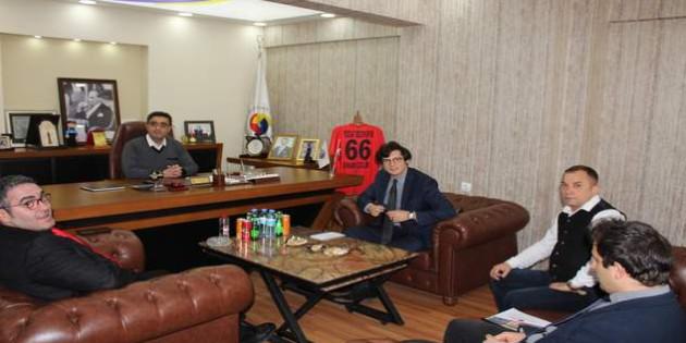 ABD Ankara Büyükelçilik Katibinden TSO'ya ziyaret