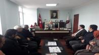 Milletvekili Başer'den Yenifakılı Belediye Başkanı Yalçın'a ziyaret