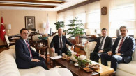 Yozgat için Ulaştırma Bakanı Turhan'ı ziyaret ettiler