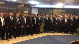 Çekerek ve Köyleri Platformu Yozgatlı bürokratları buluşturdu