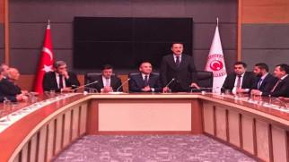 AK Parti Teşkilatlarından Bozdağ ve Başer'e ziyaret
