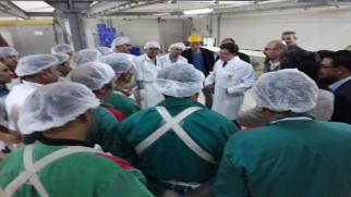 Başer'den Et ve Süt Kurumuna 20 Milyon TL'lik yatırım müjdesi