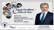 Yozgat Belediye Başkanı Celal Köse Yozgat halkının kandilini kutladı