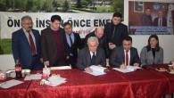 Hizmet İş ve Sorgun Belediyesi arasında toplu iş sözleşmesi imzalandı