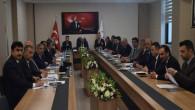 Yazıcı, İlçe Milli Eğitim Müdürleri ile toplantı yaptı