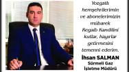 Sürmeligaz Yozgat halkının kandilini kutladı
