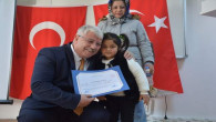 Okuma Yazma kursunu tamamlayan kursiyerlere sertifikaları dağıtıldı