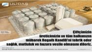 Ulidaş Lisanslı Depoculuk A.Ş. Yozgat halkının kandilini kutladı