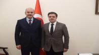 Başer'den İçişleri Bakanı Soylu'ya ziyaret
