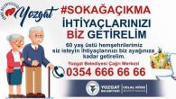 Yozgat Belediyesinden 60 yaş üzeri vatandaşlara özel hizmet