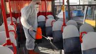 Yozgat Belediyesinden toplu taşıma araçlarında Koronavirüs önlemi