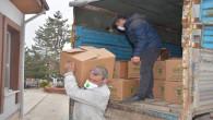Yozgat Belediyesi'nden işyeri kapanan vatandaşlara gıda ve hijyen paketi