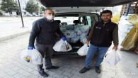 Yozgat Ticaret Borsası'ndan 700 aileye gıda desteği