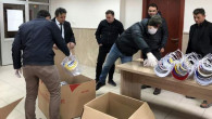 İl Milli Eğitimden Sağlık çalışanlarına siperlik maske desteği