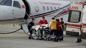 Bozdağ, devreye girdi, İsveç'teki gurbetçi ambulans uçakla Türkiye'ye getirildi