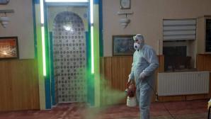Yozgat'ta camilerde dezenfekte çalışmaları devam ediyor