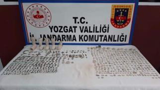 Jandarma'dan tarihi eser operasyonu: 1 kişi gözaltına alındı