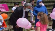 Başkan Köse, çocukların sevincini paylaştı
