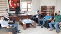 Yazıcı'dan, Yerköy İlçe Milli Eğitim Müdürü Durmaz'a hayırlı olsun ziyareti